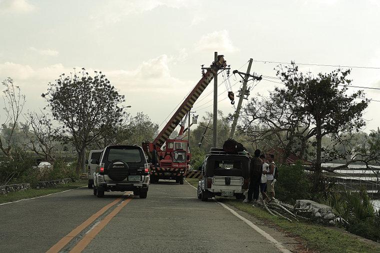 Typhoon Cosme Repairs