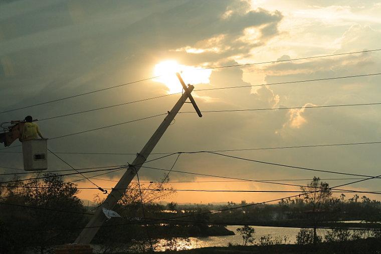 Typhoon Cosme Repairs in Pangasinan