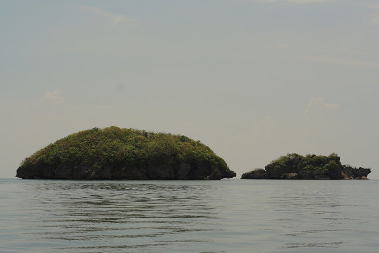 Two of the Hundred Islands