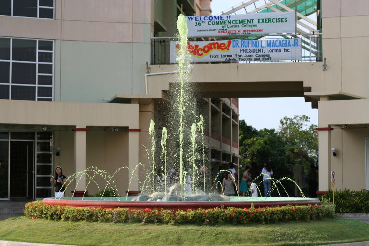 Lorma Fountain, San Juan, La Union