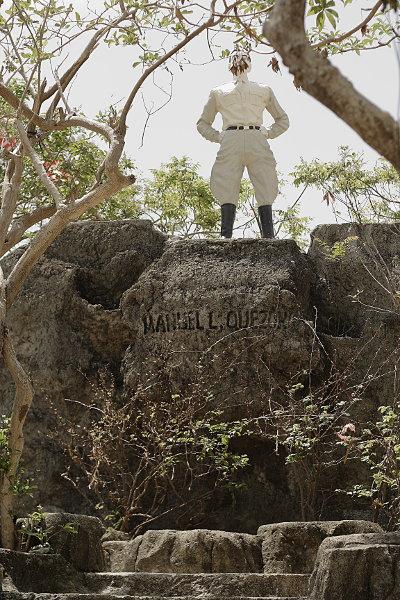Quezon Island Statue