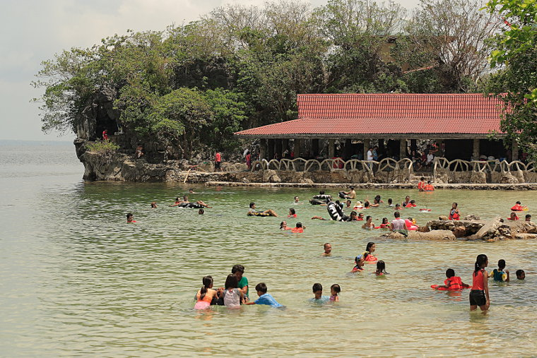 Quezon Island Swimming