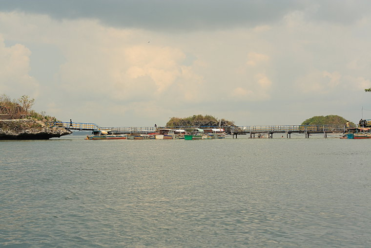 Docked at Quezon Island