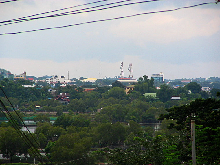 Downtown San Fernando City skyline