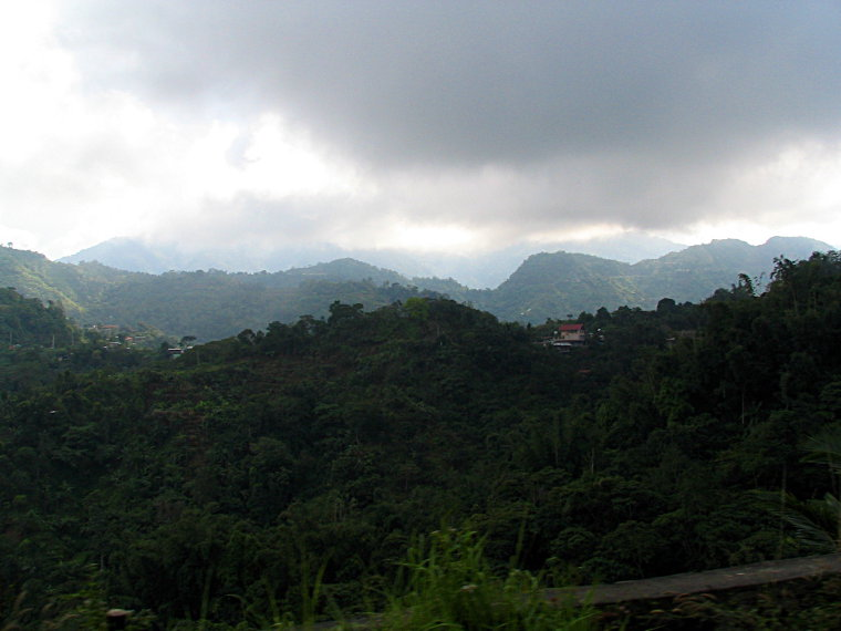 Mountains heading for Baguio IV