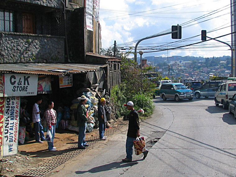 Arriving in Baguio