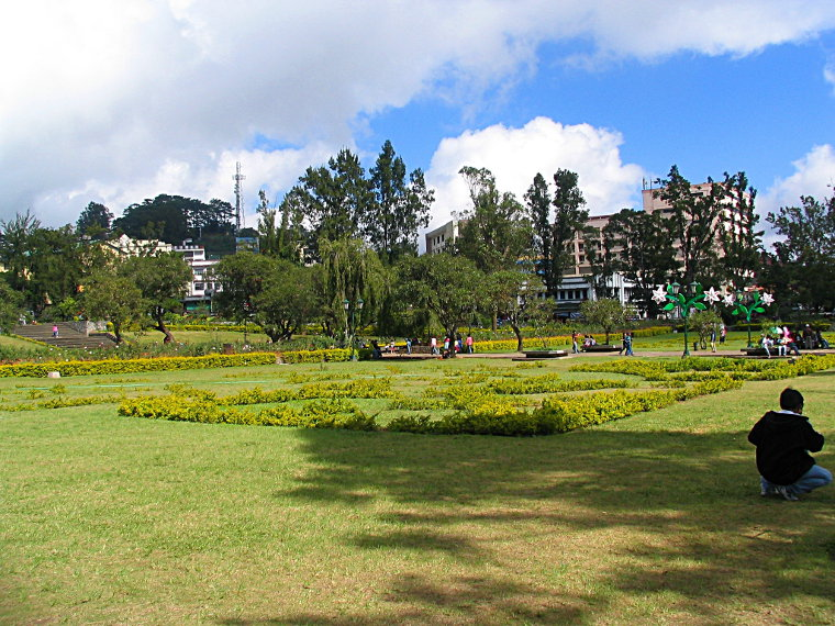 Burnham Park in Baguio