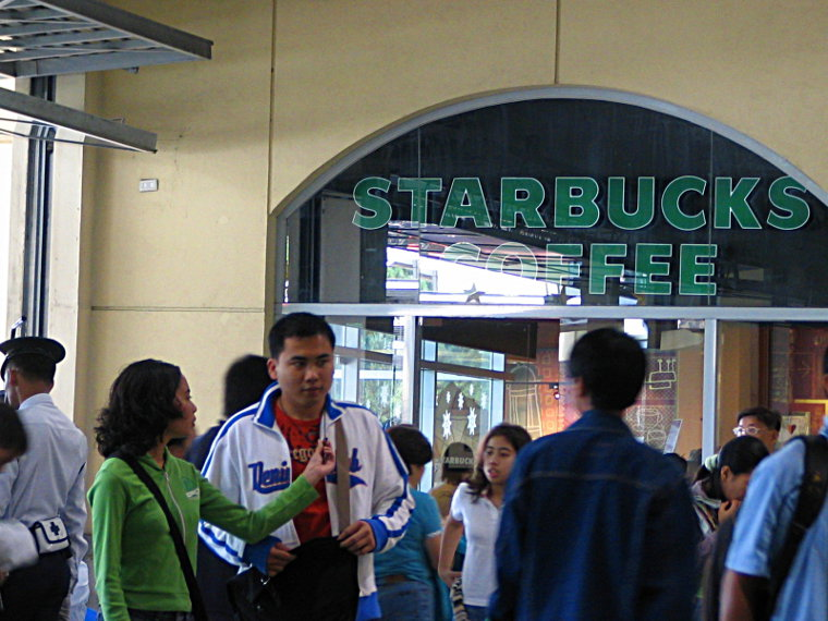 Starbucks at SM Baguio