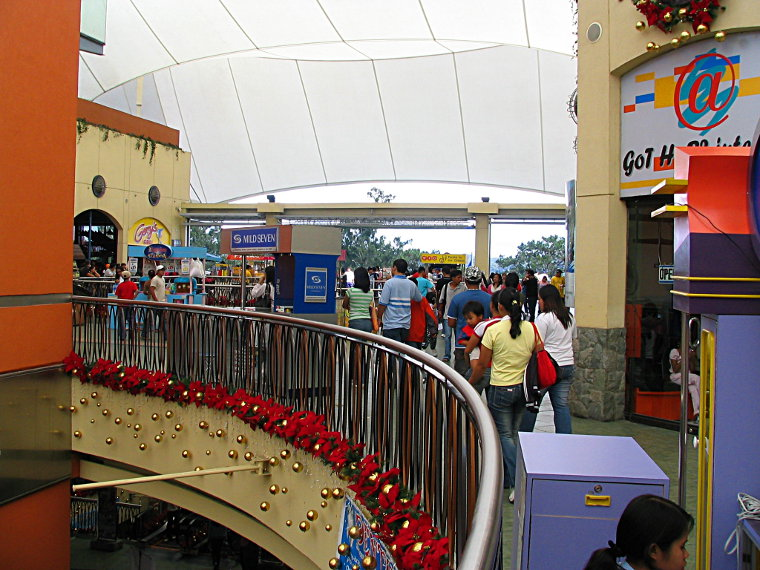 Upper level of SM Baguio I