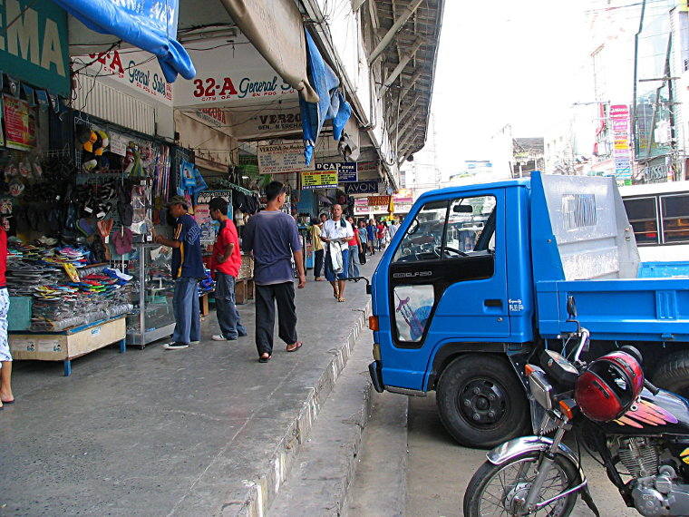 Outside the dry market