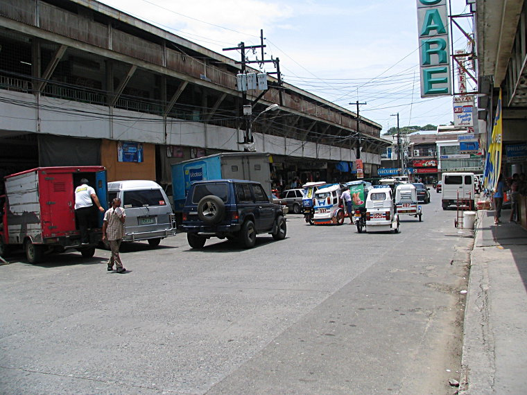 East of the dry market