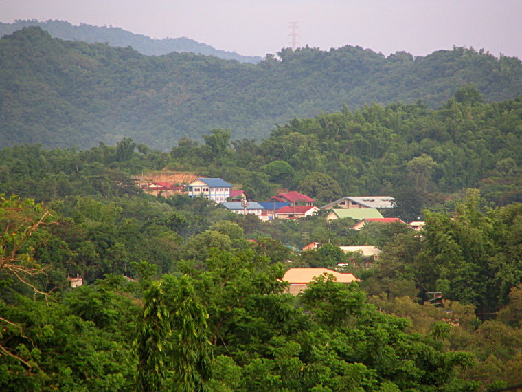 Hillside houses