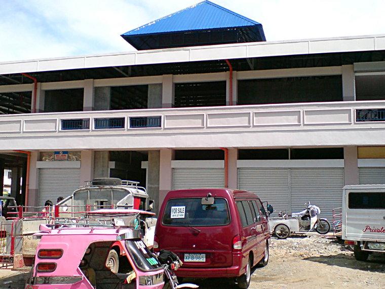 The new Balaoan Market