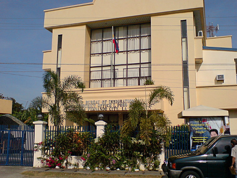 Bureau of Immigration, San Fernando City
