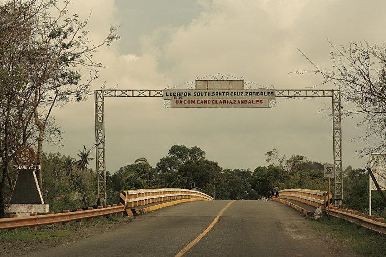 Entering Uacon, Candelaria, Zambales