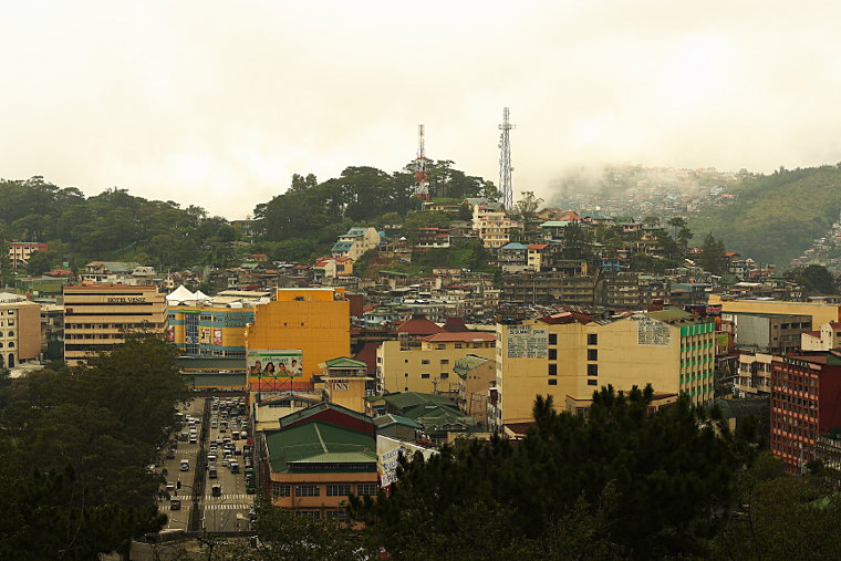 A Beautiful Foggy Day in Baguio