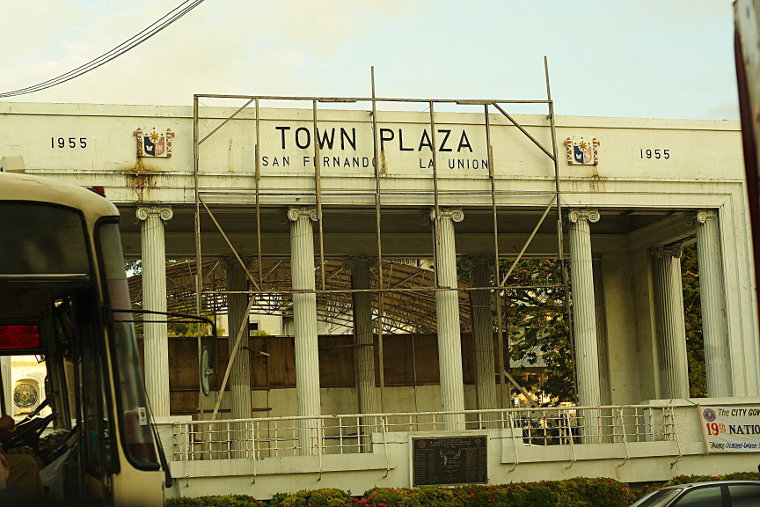 San Fernando, La Union Town Plaza
