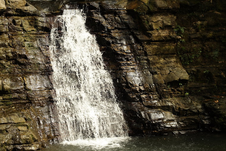 Waterfalls in Luna, La Union