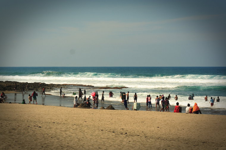 The Beach at Sebay in San Juan, La Union