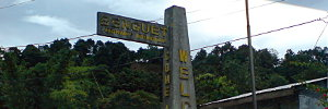 Entering the province of Benguet