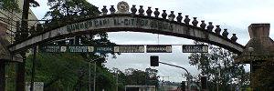 Entering Baguio