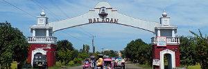 Entering Balaoan