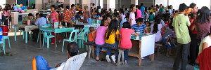 Balaoan Market Food Court