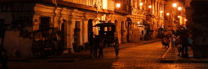 Calle Crisologo in Vigan at Night II