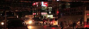 Downtown San Fernando Night Lights