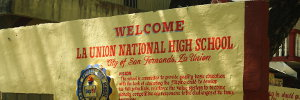 Welcome La Union National High School