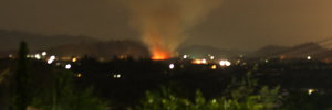 The CSI Mall Fire - Night