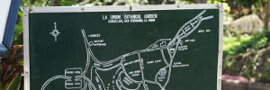 La Union Botanical Garden Map